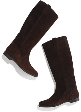 Madewell The archive boot in suede