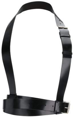 Ann Demeulemeester wide harness belt
