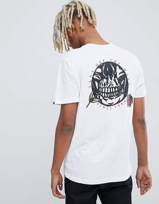 Vans t-shirt with back print in white VN0A3HR6WHT1