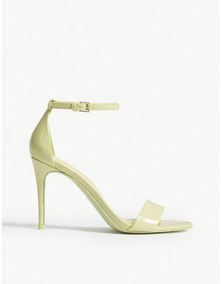 bd69bee17946 at Selfridges · Aldo Cally patent sandals