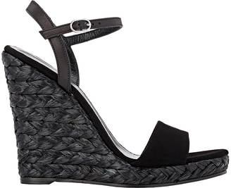 Barneys New York Women's Fania Wedge Sandals $250 thestylecure.com