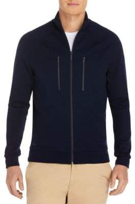 Lacoste Cotton Zip Sweatshirt