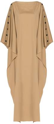 Alexis Mabille Buttoned Sleeves Kaftan