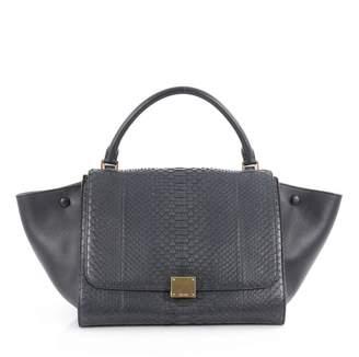 Celine Blue Leather Handbag