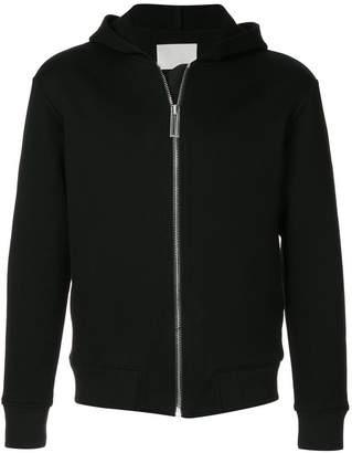 Dion Lee Chevron zip hoodie