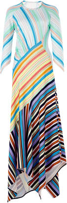 Peter Pilotto Striped Jersey Midi Dress