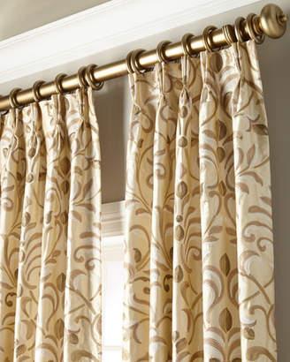"Thomas Laboratories Misti Modern Luxuries Barbara Curtain Panel, 132"""