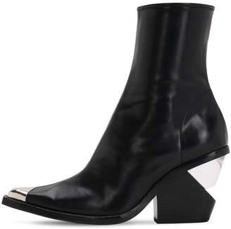 Jeffrey Campbell 100MM FAUX LEATHER COWBOY BOOTS