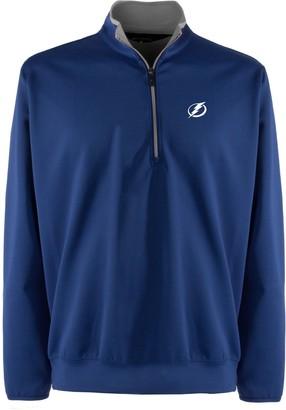 Men's Tampa Bay Lightning 1/4-Zip Leader Pullover
