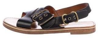 Etoile Isabel Marant Leather Flat Sandals