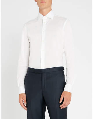 Richard James Contemporary-fit cotton-piqué shirt