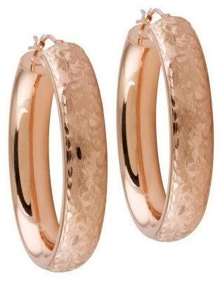Arte D'oro Arte d'Oro Arabesque Oval Hoop Earrings, 18K Gold
