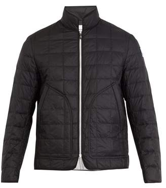 Moncler Gamme Bleu Quilted Down Jacket - Mens - Black