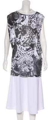 Stella McCartney Sleeveless Leopard Print Tunic w/ Tags