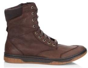 Diesel Men's Tatradium Leather Boots - Coffee - Size 8