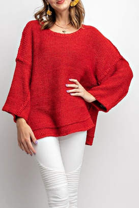 Easel Chunky Cozy Sweater