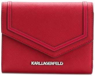 Karl Lagerfeld leather purse