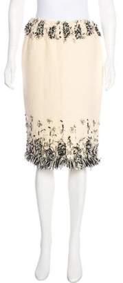 Oscar de la Renta Vintage Wool Skirt