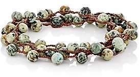 Feathered Soul Men's #Elm Wrap Bracelet - Green