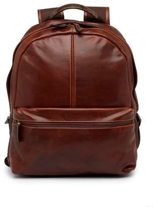 Boconi Slim Profile Leather Backpack