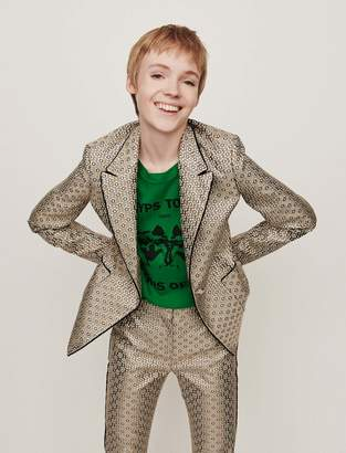 Maje Lurex jacquard jacket
