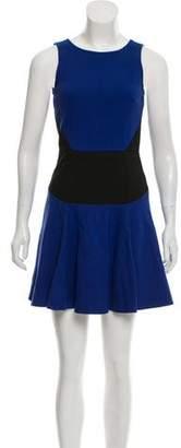 Tibi Mini Flare Dress