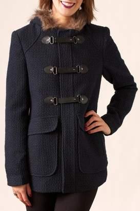 Love Stitch Lovestitch Textured Paddington Coat