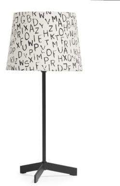 Home Studio Letters Table Lamp
