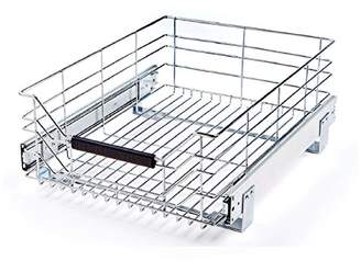Seville Classics Pull-Out Sliding Steel Wire Cabinet Organizer Drawer