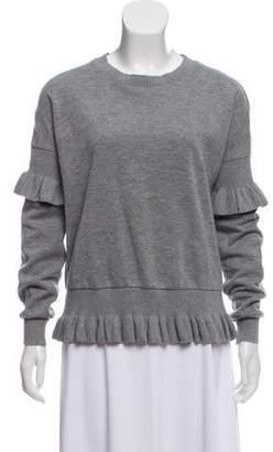 Designers Remix Charlotte Eskildsen Ruffled Crew Neck Sweater
