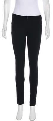 Veronica Beard Mid-Rise Skinny Pants