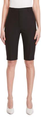 Ter Et Bantine Black High-Waisted Bermuda Shorts