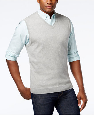 Club Room Men's Sweater Vest, Only at Macy's $49.50 thestylecure.com