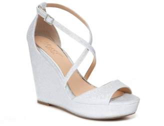 Badgley Mischka Averie Wedge Sandal