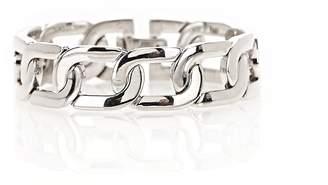 Alexander Wang Rhodium Curb Chain Bracelet