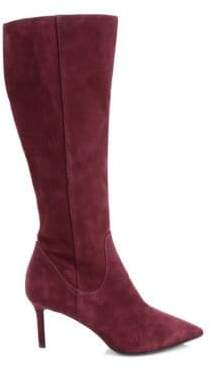 Aquatalia Madison Suede Knee-High Boots