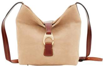 Dooney & Bourke Derby Suede Crossbody Hobo