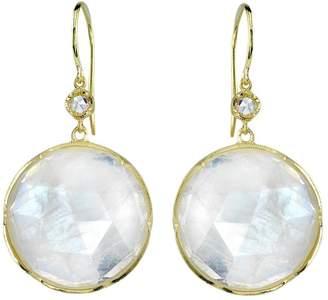 Irene Neuwirth moonstone and diamond earrings