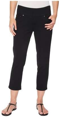 Jag Jeans Peri Straight Pull-On Twill Crop Women's Jeans