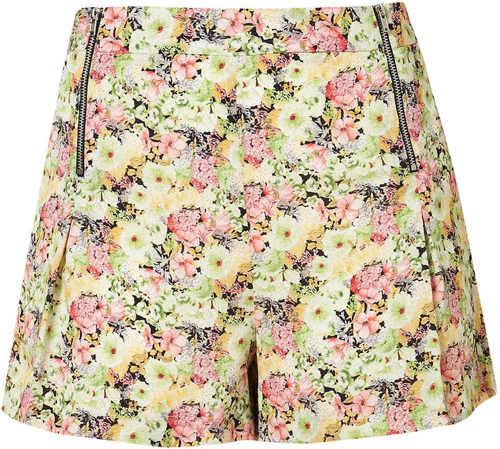 Co-ord Peony Floral Shorts