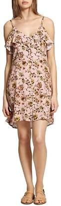 Sanctuary Rafaella Floral Button-Front Slip Dress