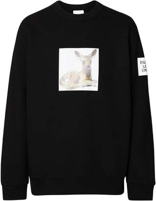Burberry deer print sweatshirt