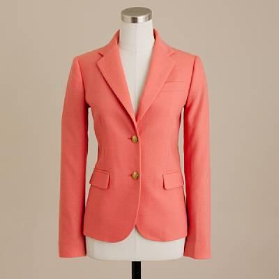 Wool schoolboy blazer