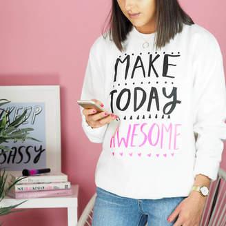 Rock On Ruby Make Today Awesome Teen Sweatshirt