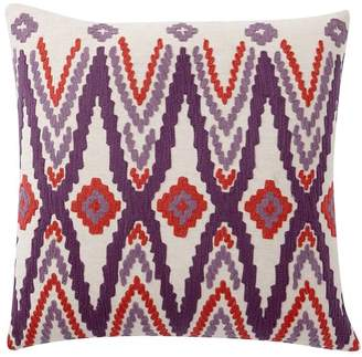 Pottery Barn Teen Sunset Ikat Pillow Cover, 18 x 18, Warm