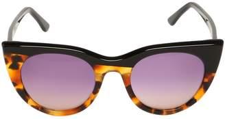 Kyme Bi-Color Cat Eye Acetate Sunglasses