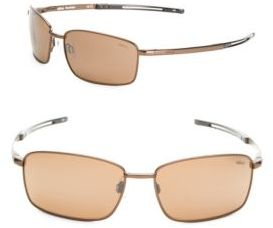 60MM Square Pilot Sunglasses $179 thestylecure.com