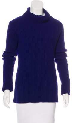 Ann Demeulemeester Rib Knit Turtleneck Sweater