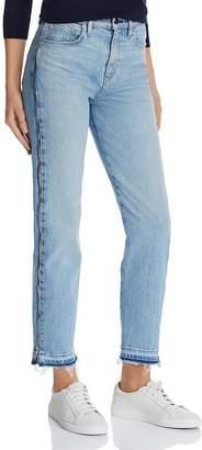 Hudson Holly Ankle Released-Hem Jeans in Uninterrupted