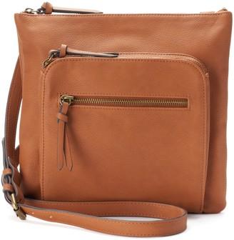 Sonoma Goods For Life SONOMA Goods for Life Dina Triple Entry Crossbody Bag